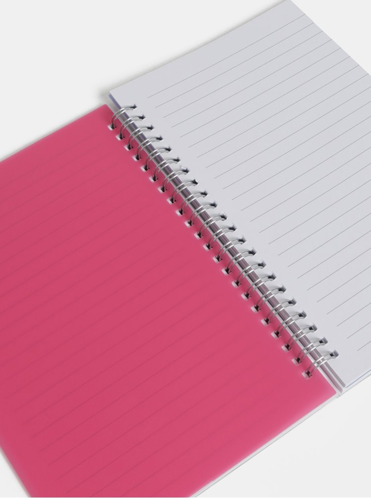 Modrý květovaný zápisník Cath Kidston A5