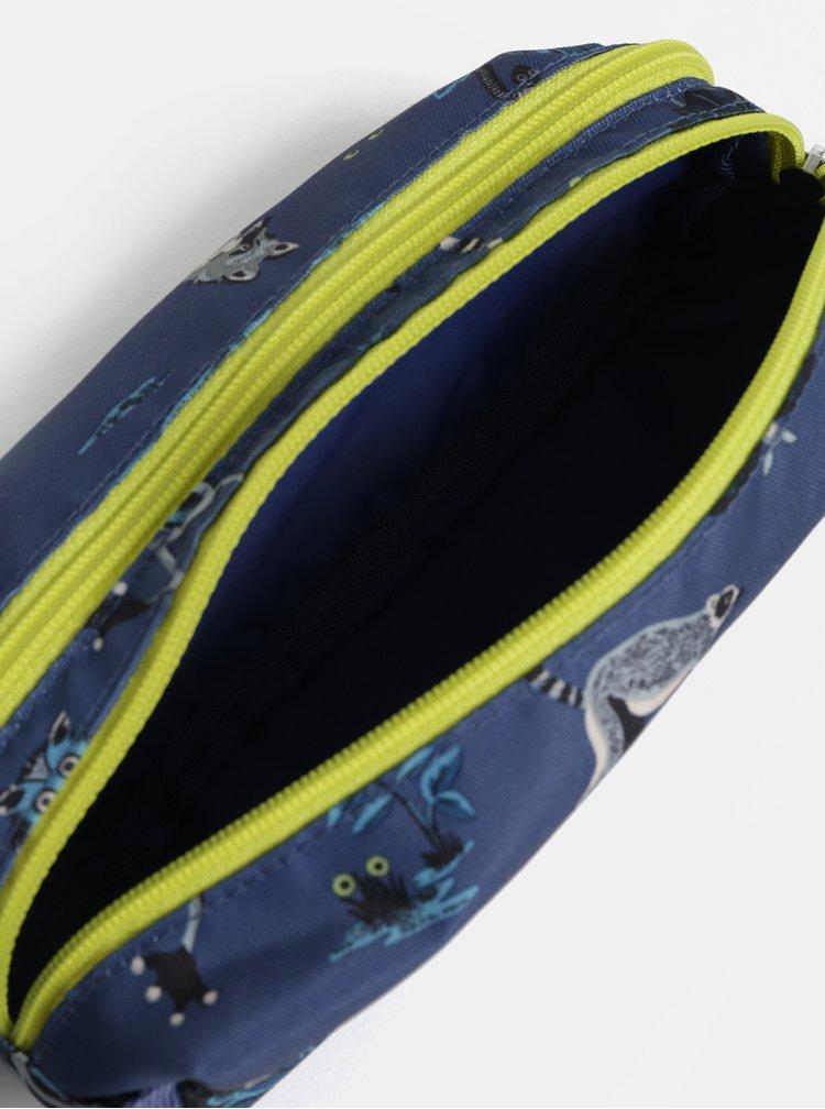 Tmavě modrý klučičí vzorovaný penál Cath Kidston