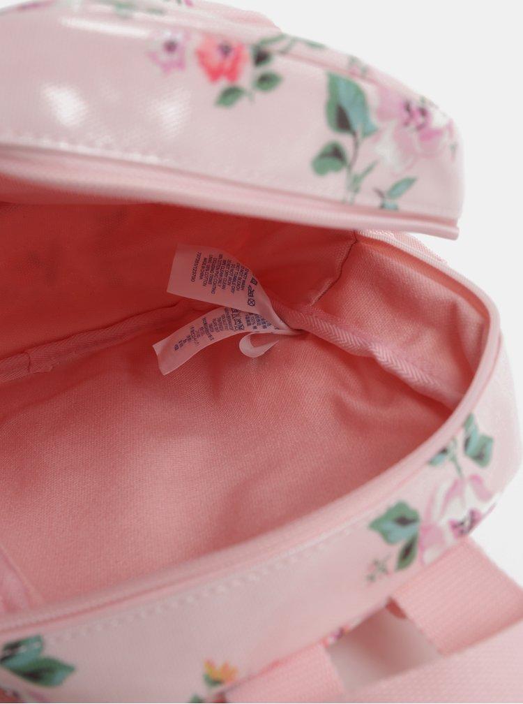 Růžový holčičí květovaný batoh Cath Kidston