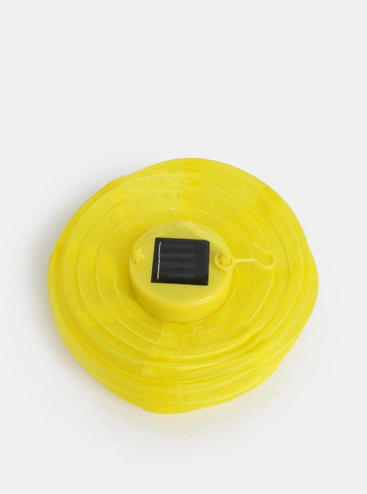 Žlutý solární lampión Kaemingk