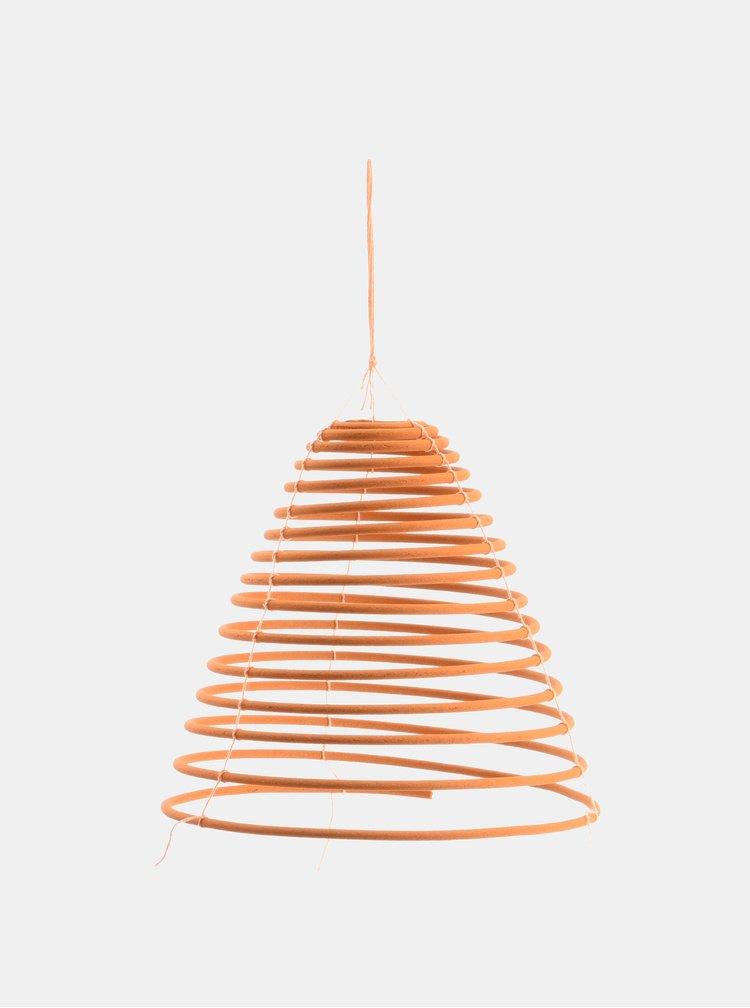 Oranžová vonná závěsná spirála Kaemingk