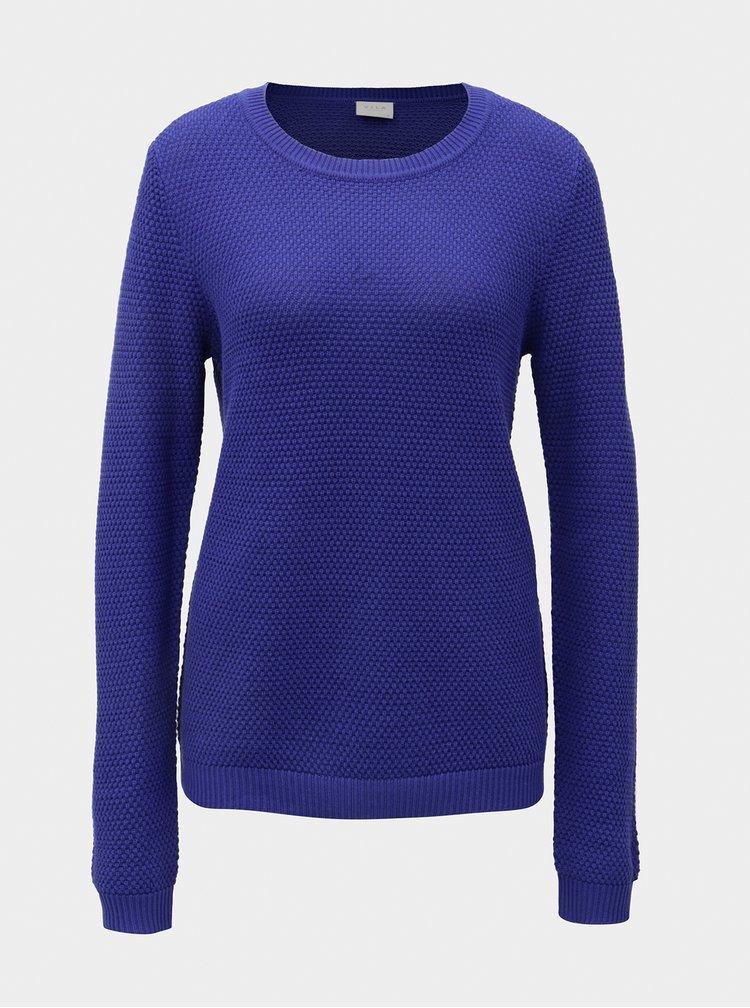 Modrý svetr VILA Chassa
