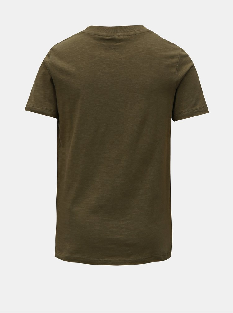 Khaki klučičí tričko s potiskem LIMITED by name it