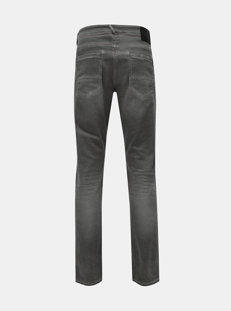Šedé pánské slim fit džíny Garcia Jeans