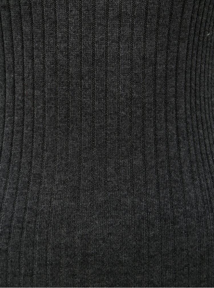 Rochie tricotata gri inchis Dorothy Perkins
