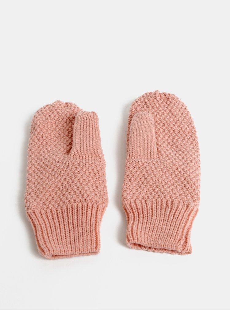 Růžové palčáky Pieces Filli