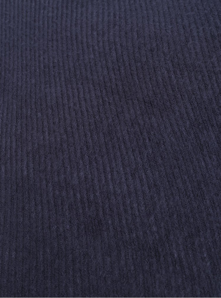 Tmavě modrá šála Pieces Faline