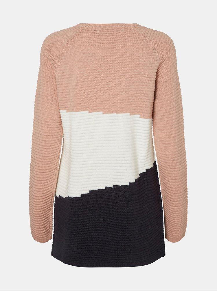 Čierno-ružový sveter VERO MODA