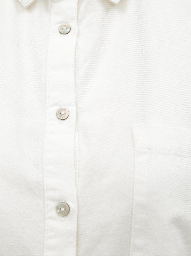 Bílá dámská košile s náprsní kapsou Garcia Jeans