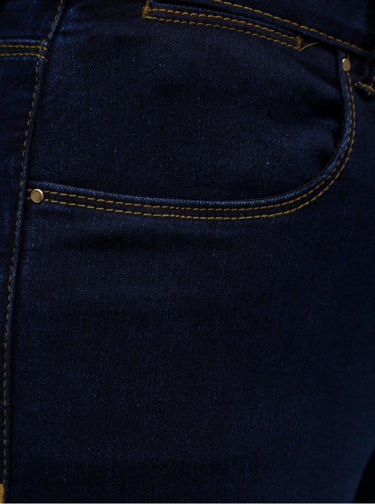 Blugi albastru inchis skinny din denim Dorothy Perkins Bailey