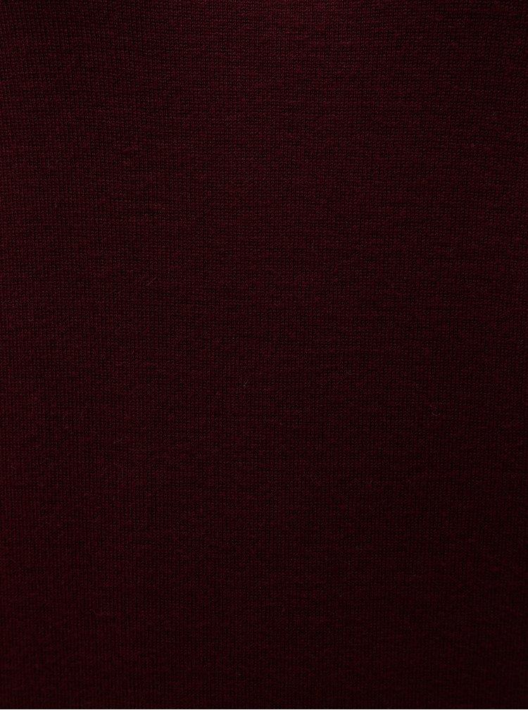 Vínový tenký sveter Dorothy Perkins