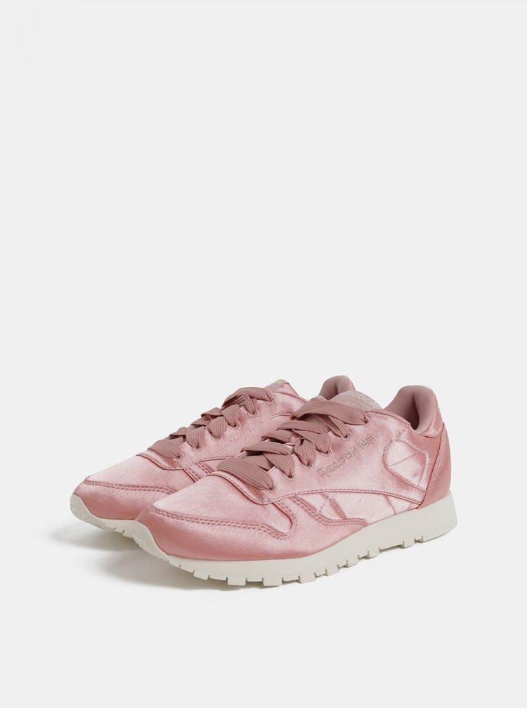 Tenisi de dama roz Reebok Classic