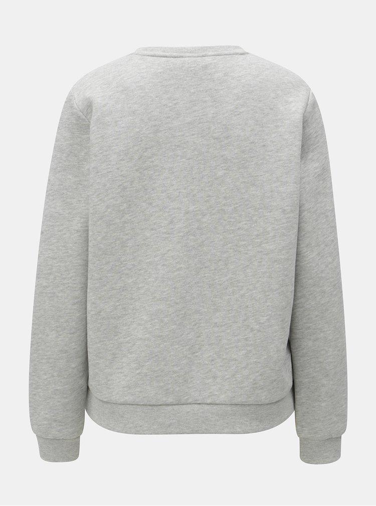 Bluza sport gri cu print ONLY
