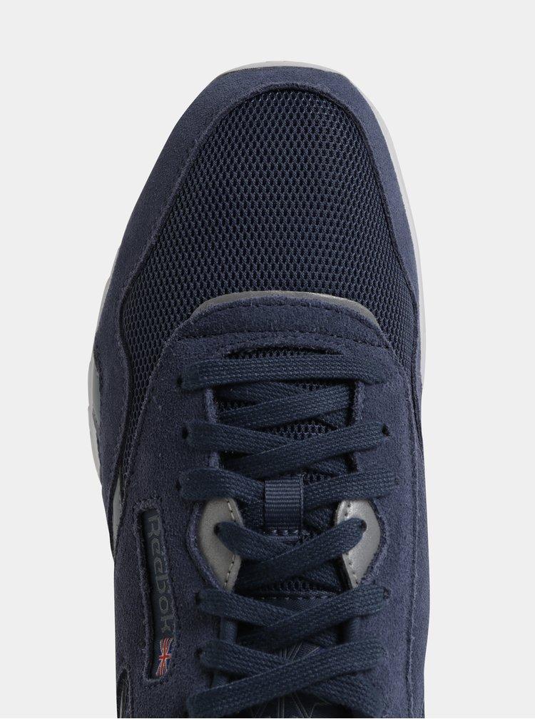 Modré pánské semišové tenisky Reebok