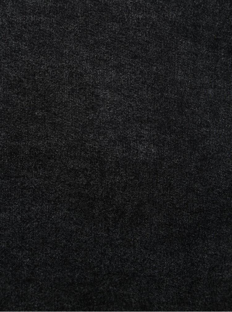 Černá žíhaná mikina SUIT Hunter