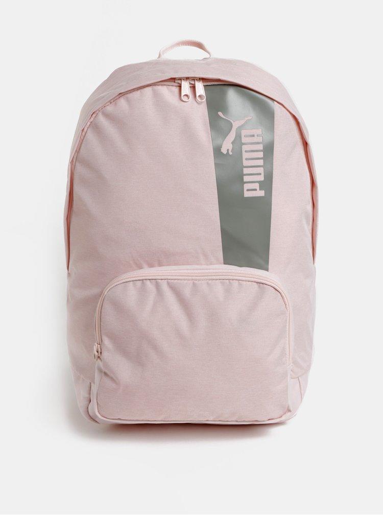 Rucsac roz deschis cu print Puma 21 l
