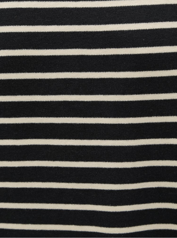 Tricou albastru inchis in dungi SUIT Beagle