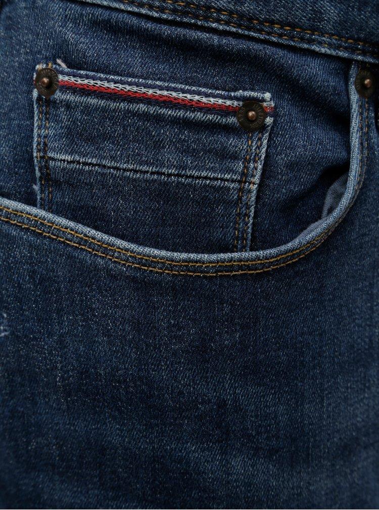 Modré pánské slim fit džíny Tommy Hilfiger Layton