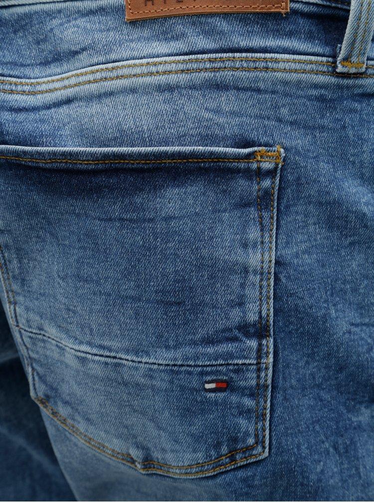Světle modré pánské slim fit džíny Tommy Hilfiger Bleecker