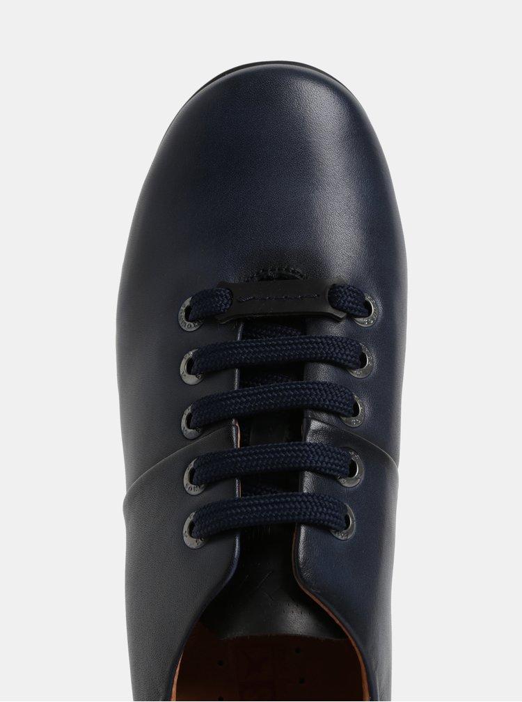Tmavě modré kožené tenisky Pikolinos Blue