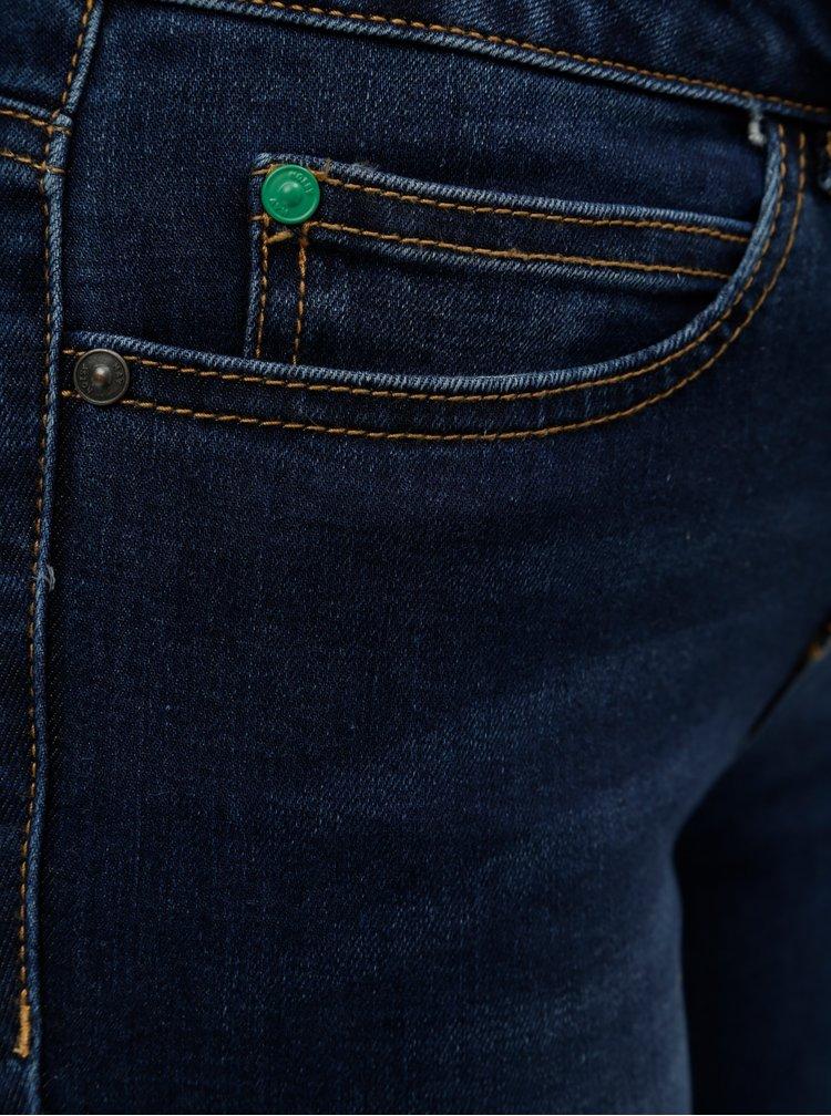 Tmavě modré slim fit džíny Noisy May Lucy