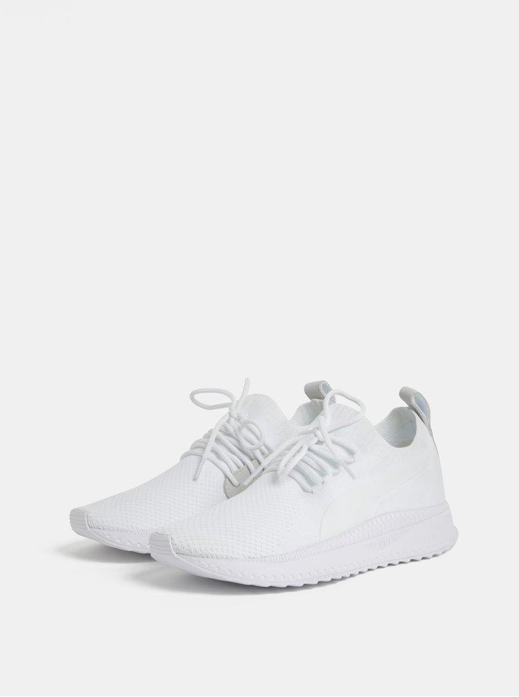 Pantofi sport albi de dama Puma Tsugi Apex evoKnit