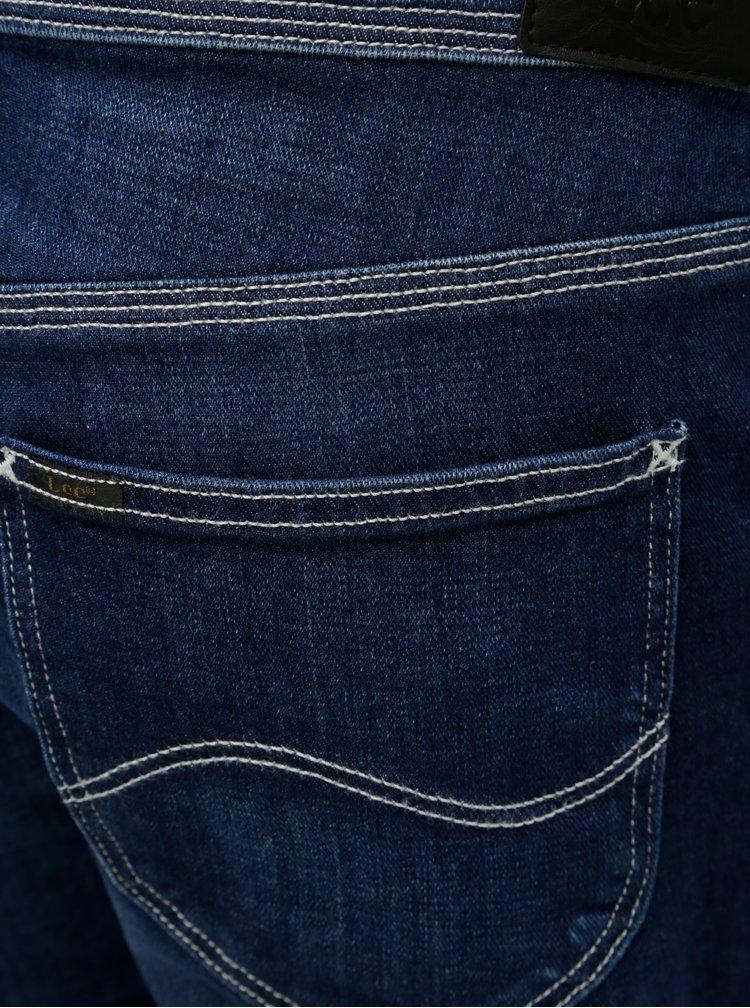 Tmavě modré dámské džínové lacláče Lee