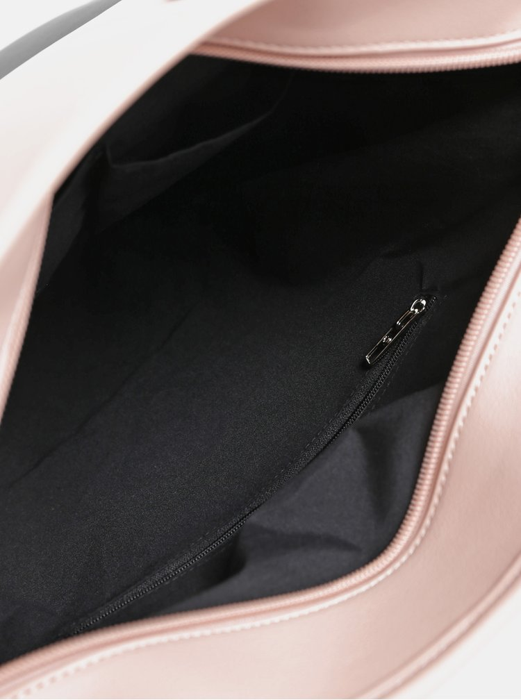 Černo-růžová velká kabelka Meatfly