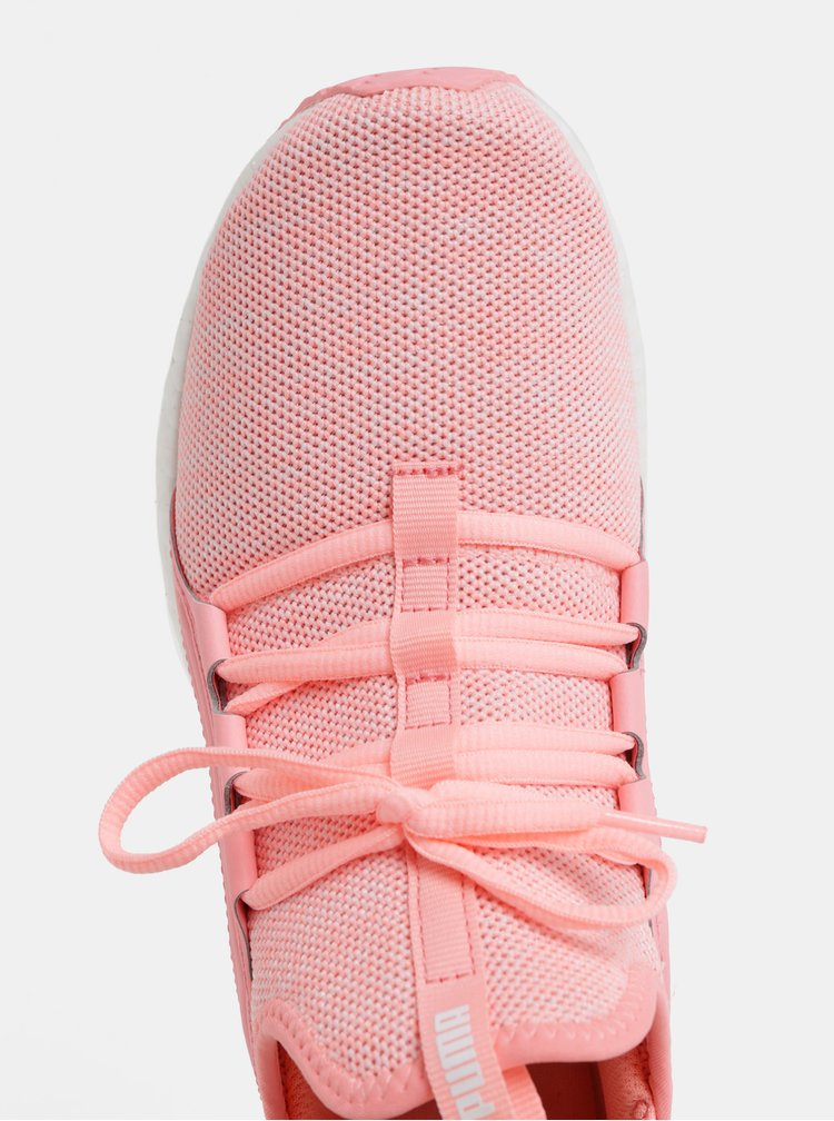 Ružové dámske neónové tenisky Puma Mega NRGY