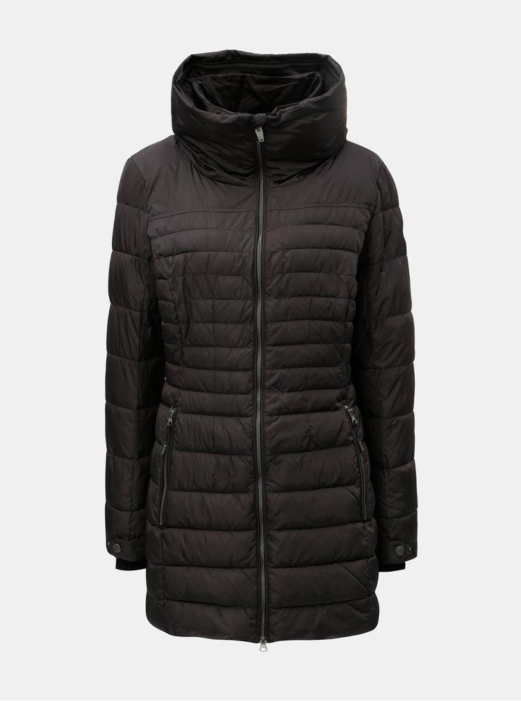 Jacheta de dama neagra matlasata lunga killtec