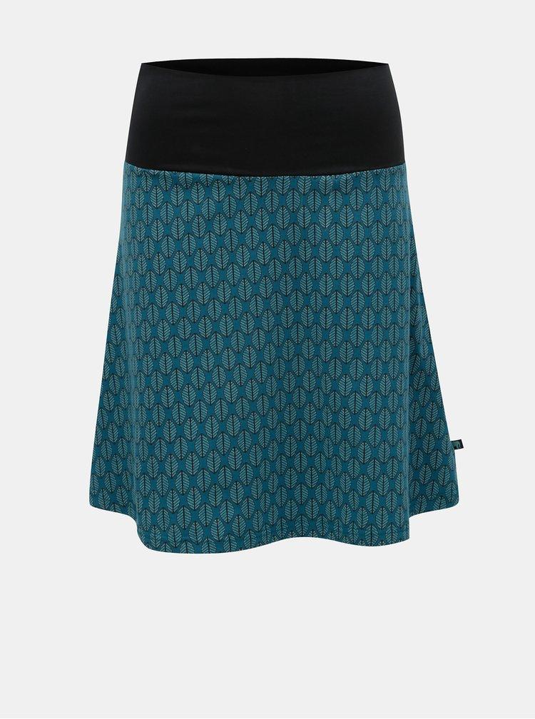 Petrolejová vzorovaná sukně Tranquillo Cama