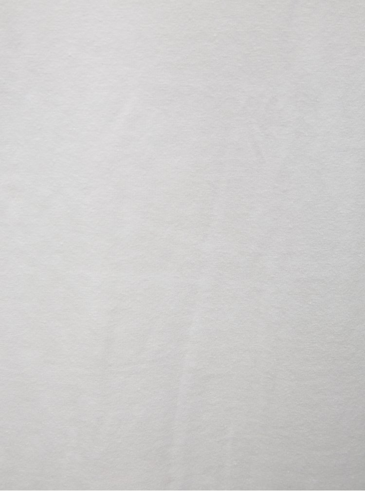 Súprava dvoch slim fit basic tričiek pod košeľu v bielej farbe Blend