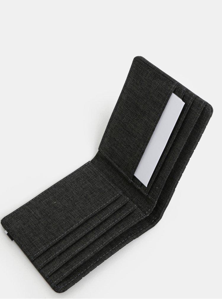 Čierna pánska peňaženka Herschel Edward RFID