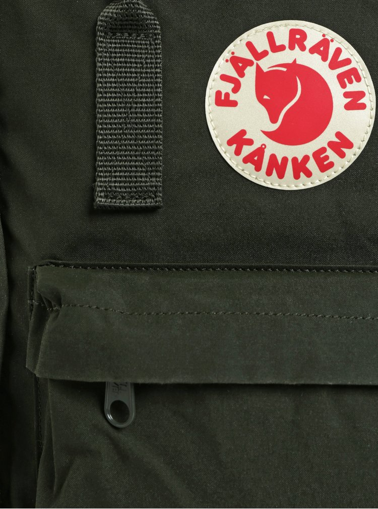 Tmavě zelený voděodolný batoh Fjällräven 16 l