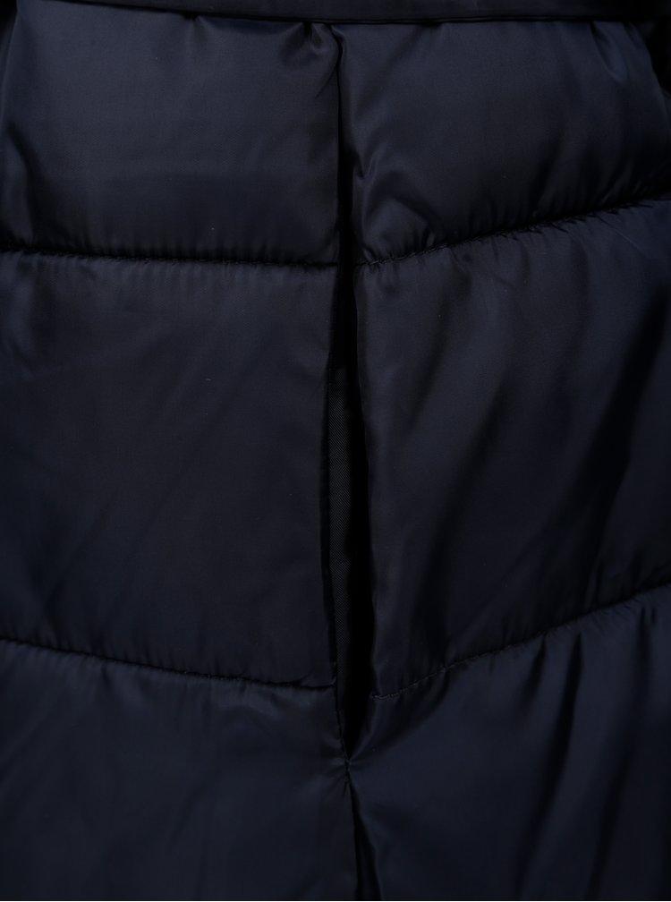 Geaca matlasata albastru inchis Jacqueline de Yong Harper