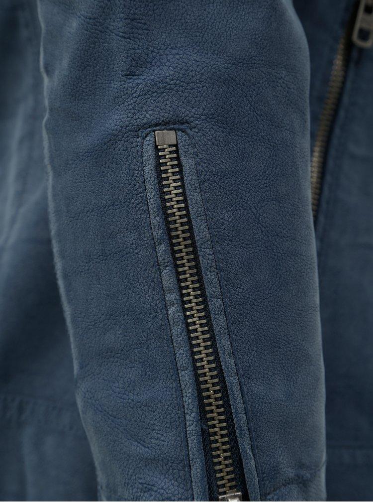 Modrý koženkový křivák ONLY Saga