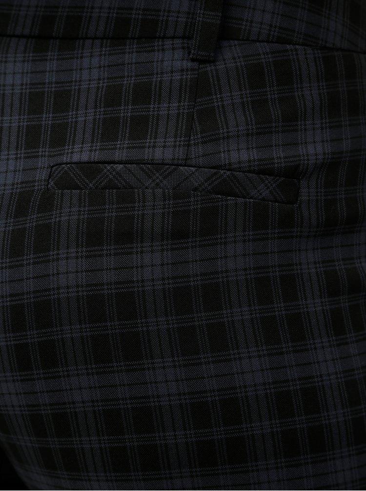 Pantaloni albastru-negru in carouri Dorothy Perkins