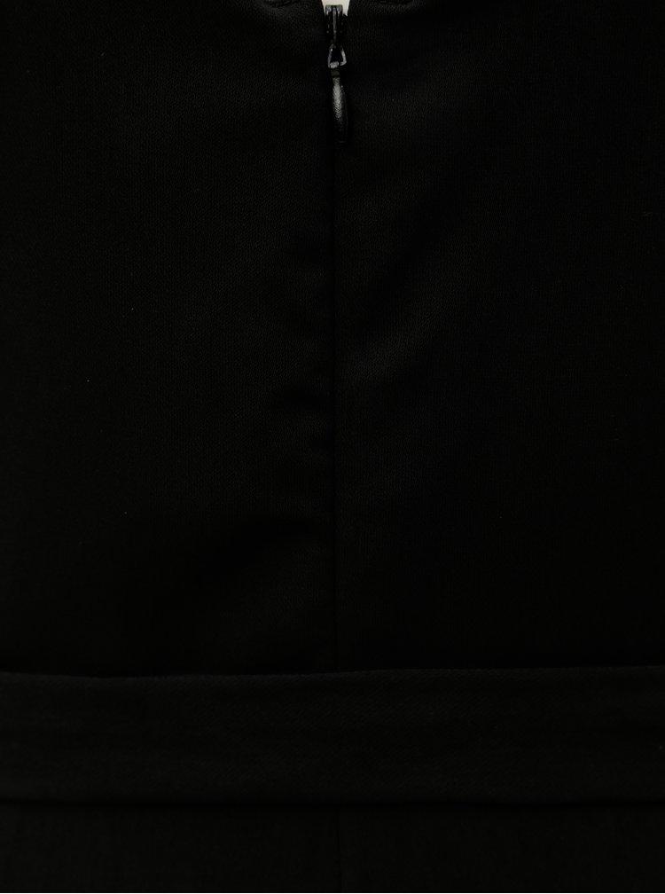 Salopeta neagra lunga cu cordon detasabil Dorothy Perkins