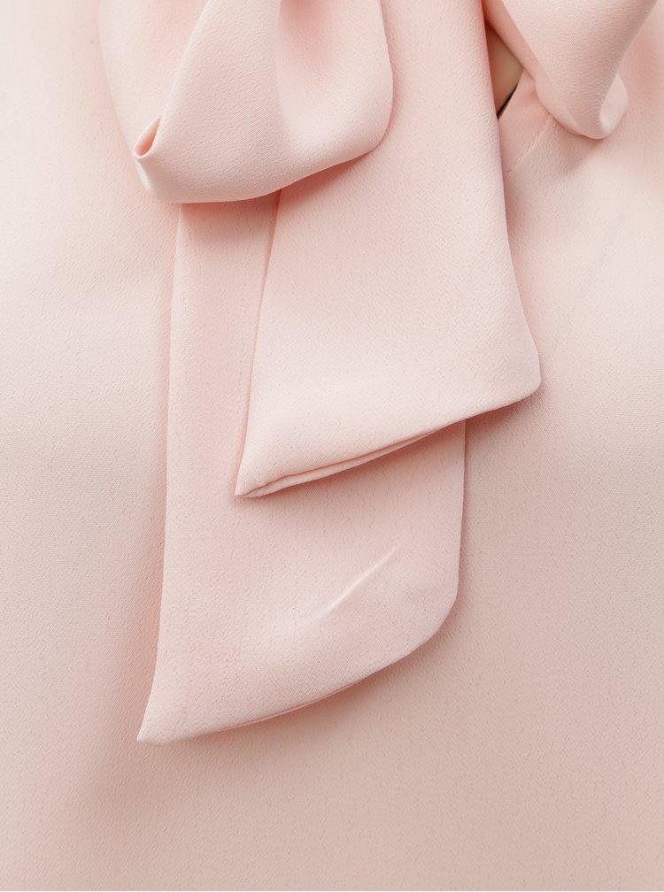 Rochie maxi roz deschis cu panglica Dorothy Perkins