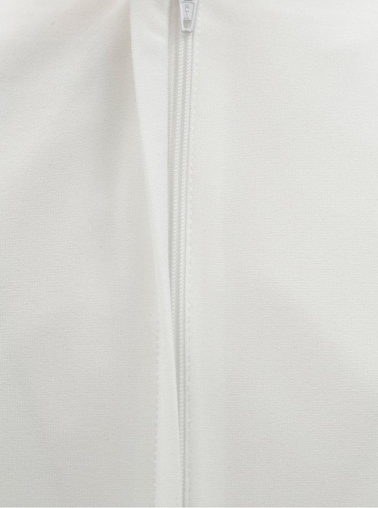 Bílo-černé pouzdrové šaty s odnímatelným páskem Dorothy Perkins