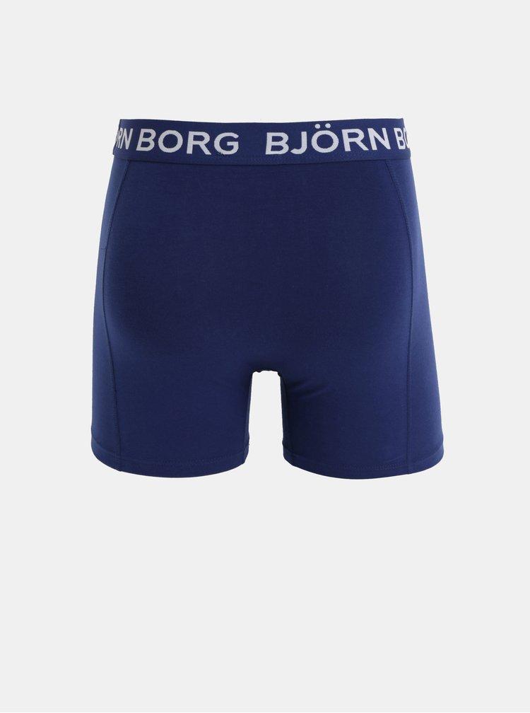 Set de 2 boxeri albastri si rosii Björn Borg