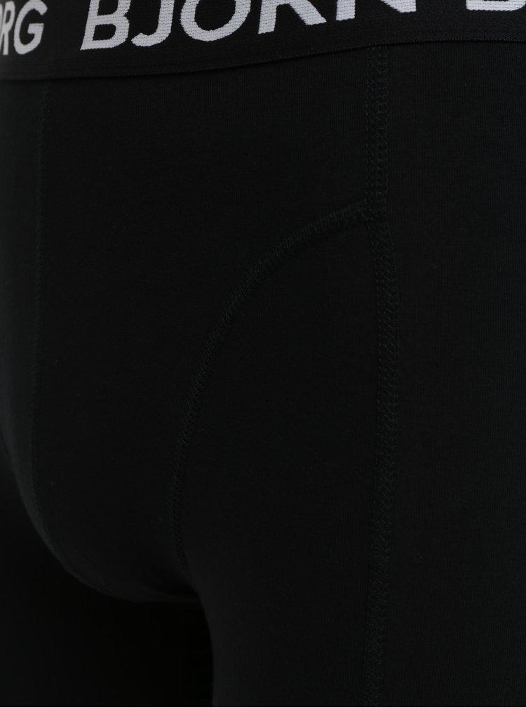 Sada dvou boxerek v modré a černé barvě Björn Borg