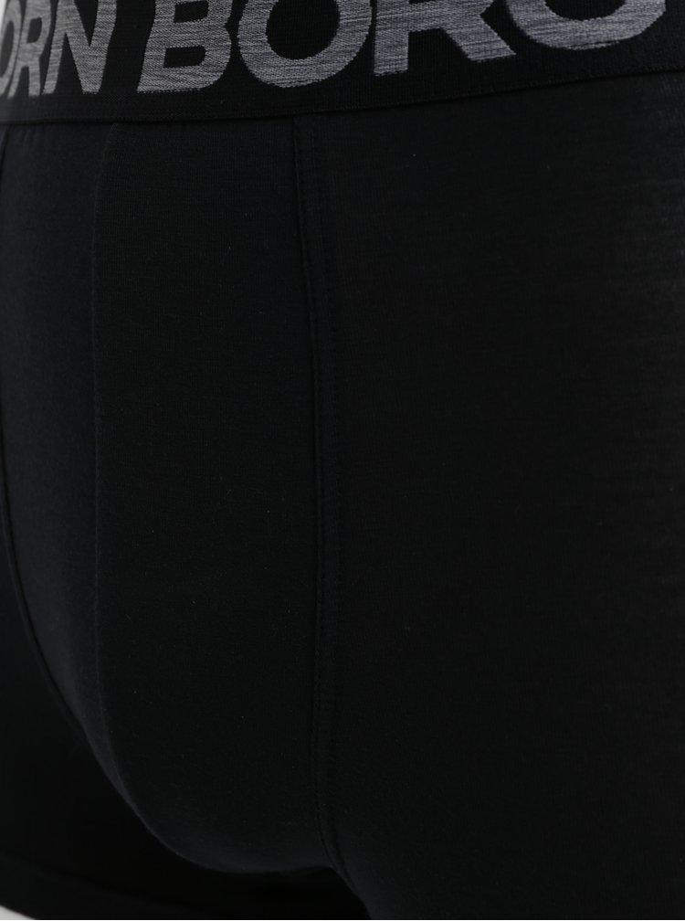 Set de 2 boxeri albi si negri Björn Borg