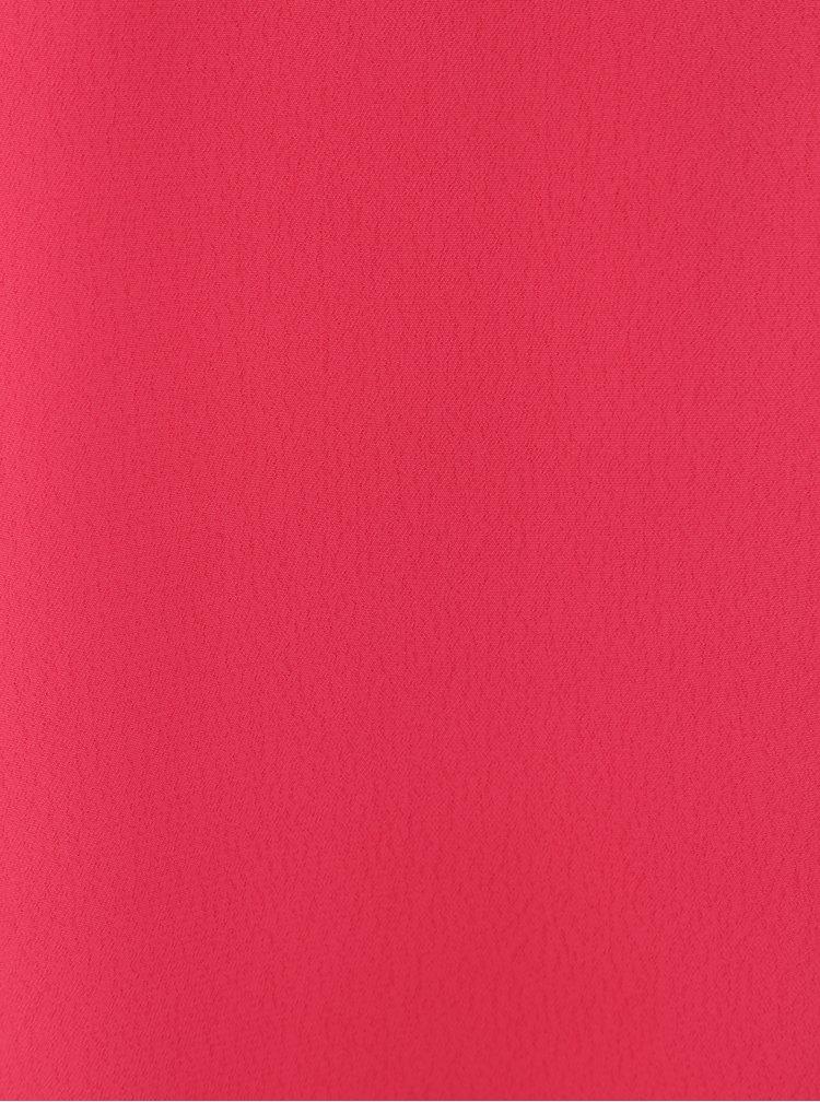 Tmavě růžový top se štrasovým zdobením Dorothy Perkins