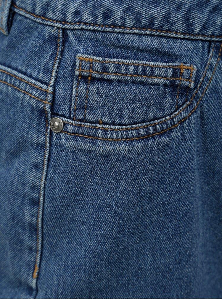 Modrá džínová sukně s volánem Noisy May Sejla