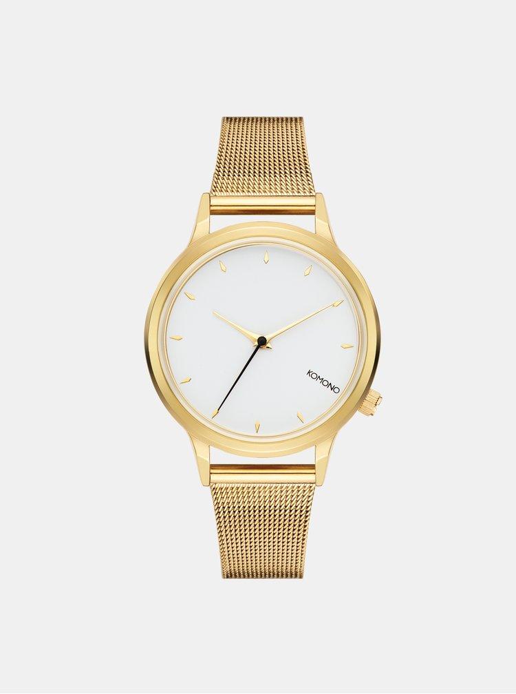 Dámské hodinky s nerezovým páskem ve zlaté barvě Komono Lexi Royale