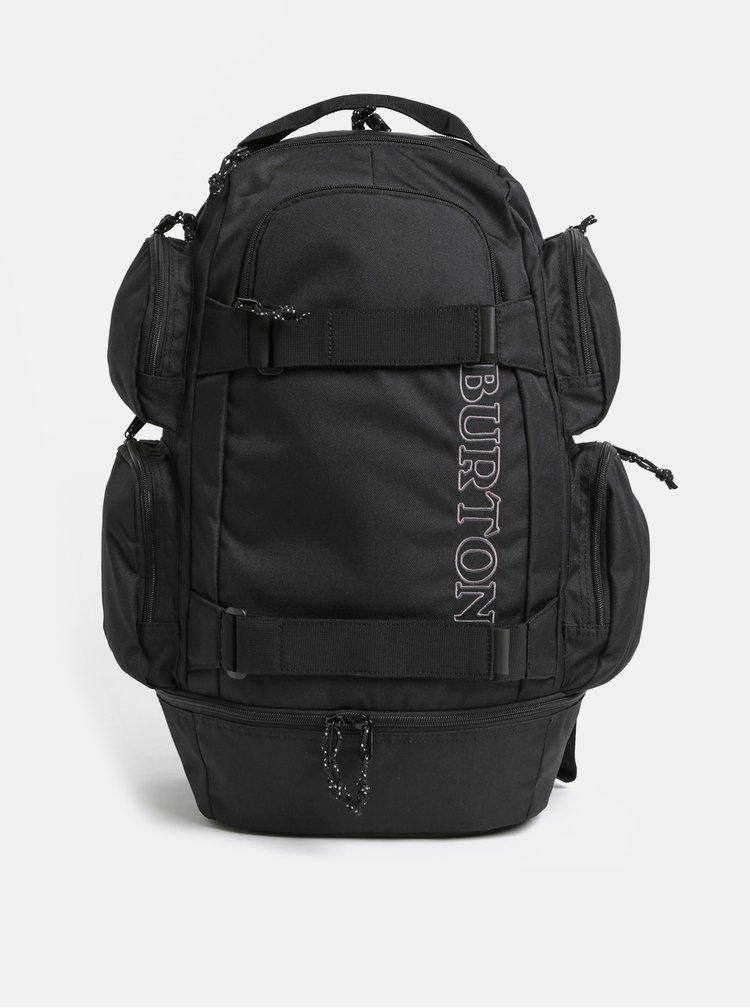 Černý batoh s výšivkou Burton 29 l