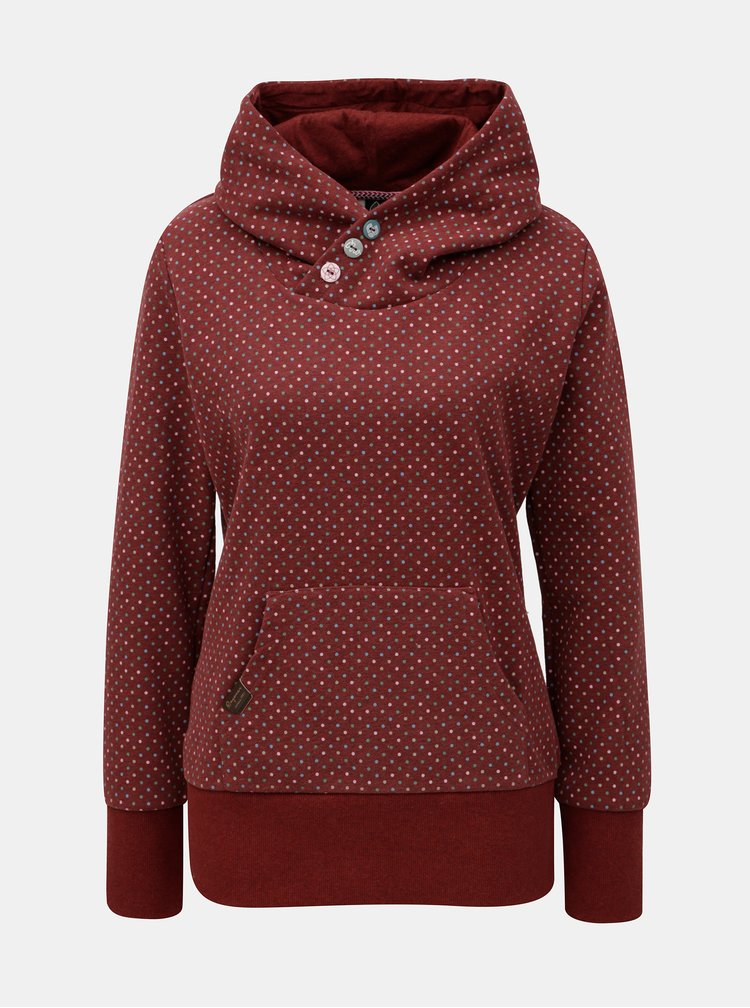 Hanorac de dama bordo cu model Ragwear