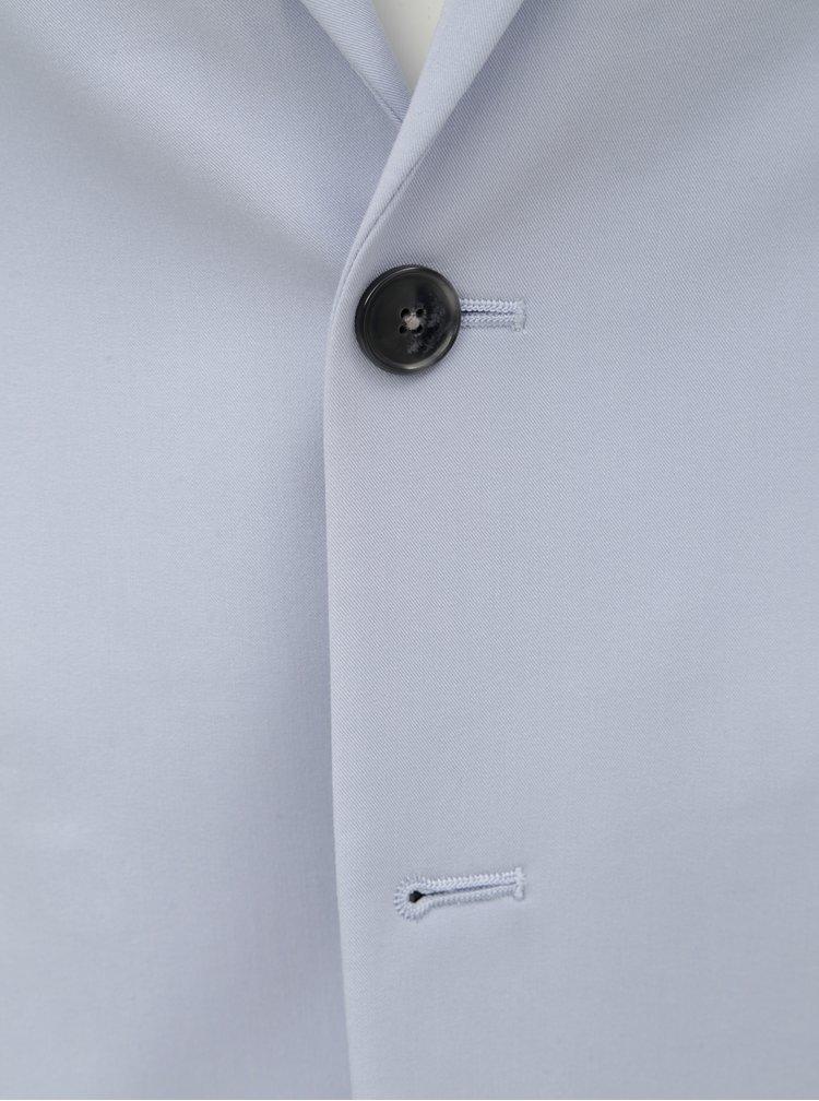 Svetlomodré oblekové skinny fit sako Burton Menswear London
