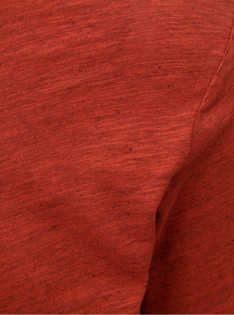 Červené žíhané tričko ONLY & SONS Albert